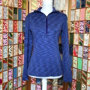 {Columbia} 3/4 Zip-Up Pullover | M
